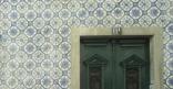 Azules - fliser pryder veggene