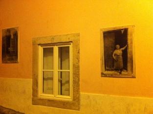 Fotokunst på veggene i Sao Critstova