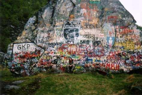 grafittifjellet
