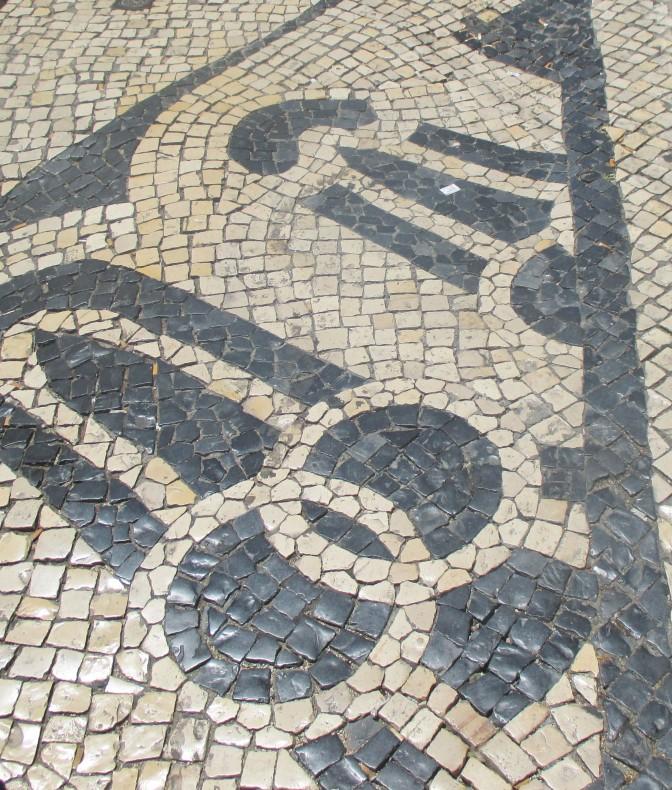 Calçada – Gatemosaikk