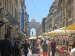 Rua Augusta - gågate i Baixa