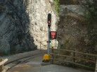 Følg med på trafikklyset om du går eller kjører frem til stedet