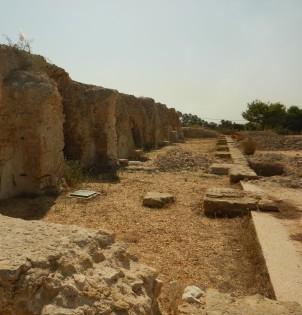 Deler av akvadukten