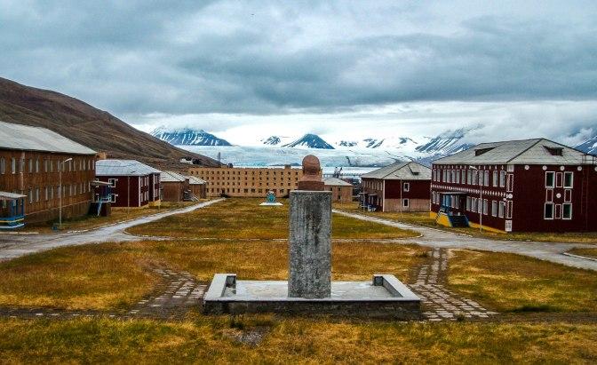Pyramiden på Svalbard