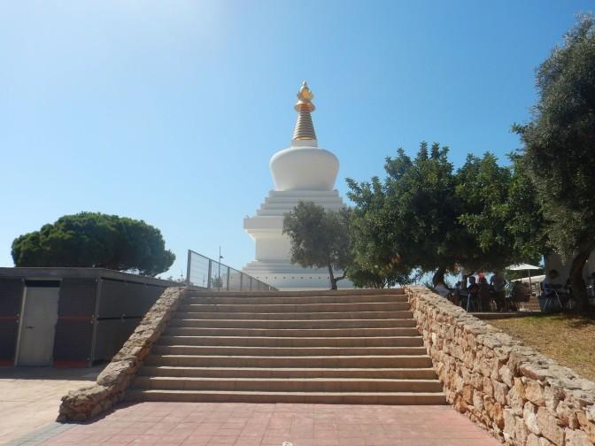Den buddhistiske stupaen i Benalmadena
