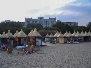 Hoteller langs stranden